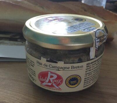 Pâte de campagne Breton - Produit