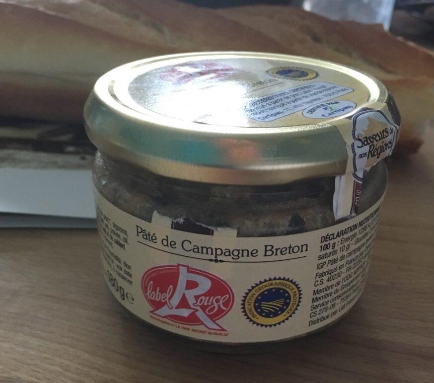 Pâte de campagne Breton - Produit - fr