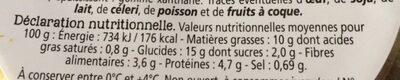Salade veggie - Voedingswaarden - fr