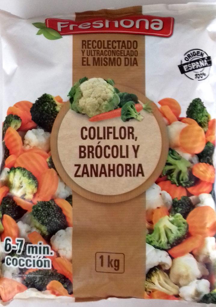 Coliflor, Brócoli y Zanahoria - Producto - es