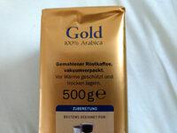 café gold - Ingrédients - de