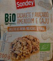 BIO cacahuete y anacardo - Producto - es