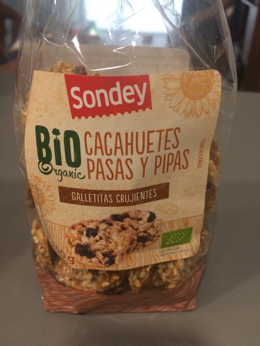 Galletas de avena, cacahuete y anacardo - Produit - fr