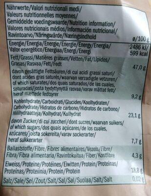 Cashew Nuts noix de cajou - Nährwertangaben - de