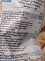 Cashew Nuts noix de cajou - Ravintosisältö - fi