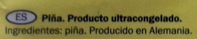 Piña - Ingredientes