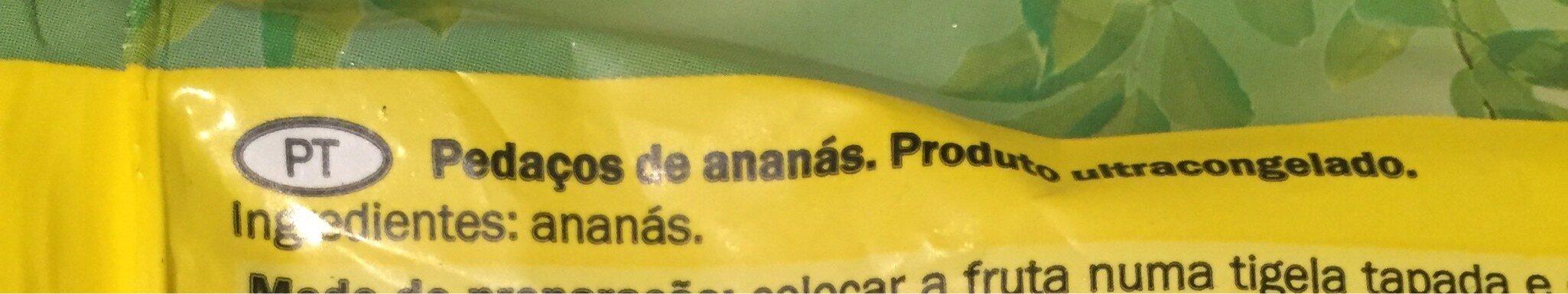 Piña - Ingrédients - fr