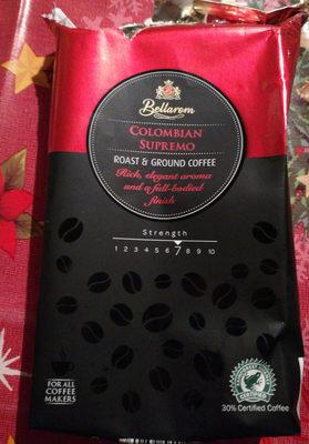 Colombian Supremo őrölt kávé - Produit - hu