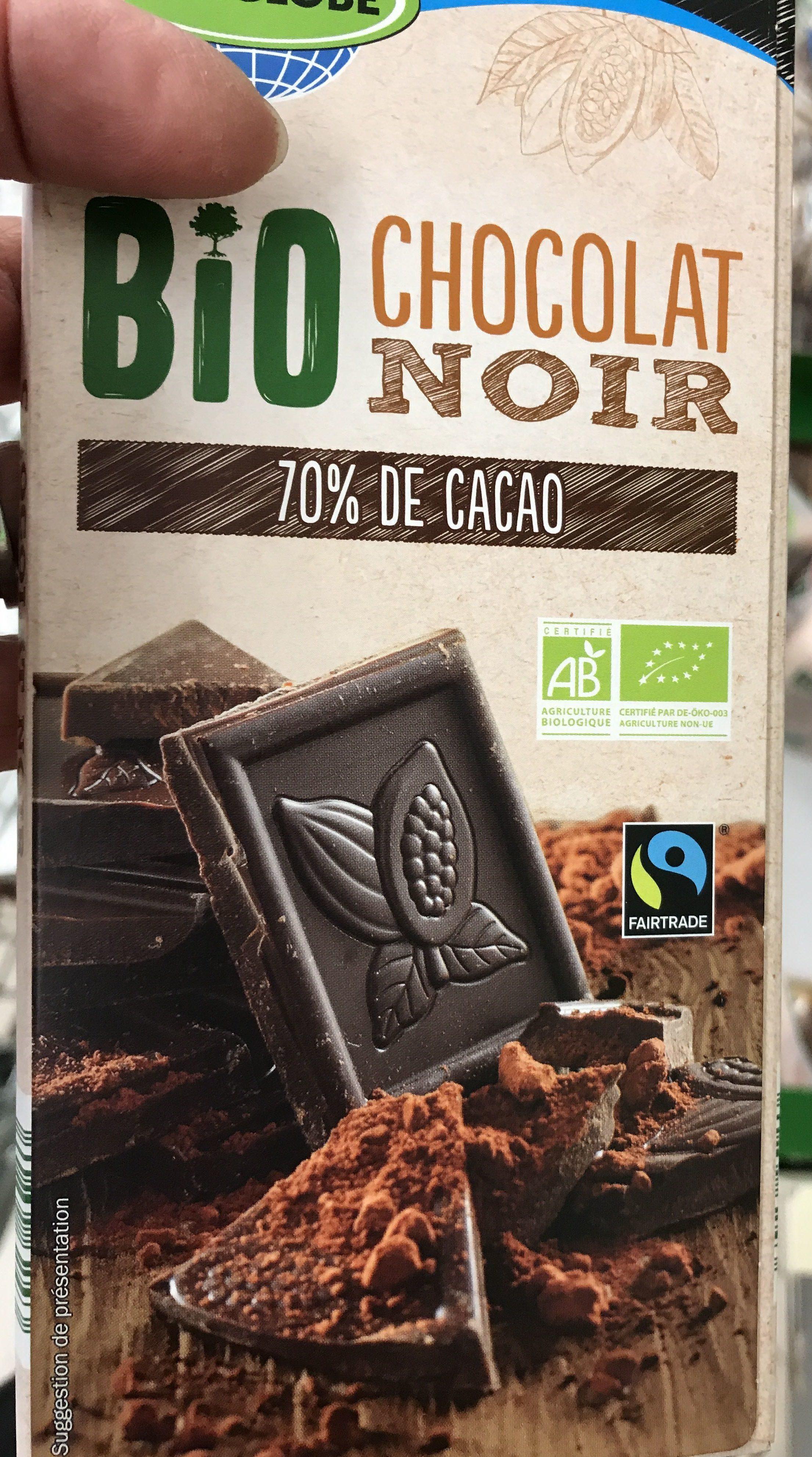 Schokolade - Bitterschokolade 70% - Produit - fr