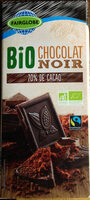 chocolat noir Bio 70% de cacao - Product - fr