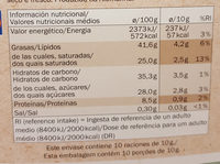 chocolat noir Bio 70% de cacao - Nährwertangaben - de