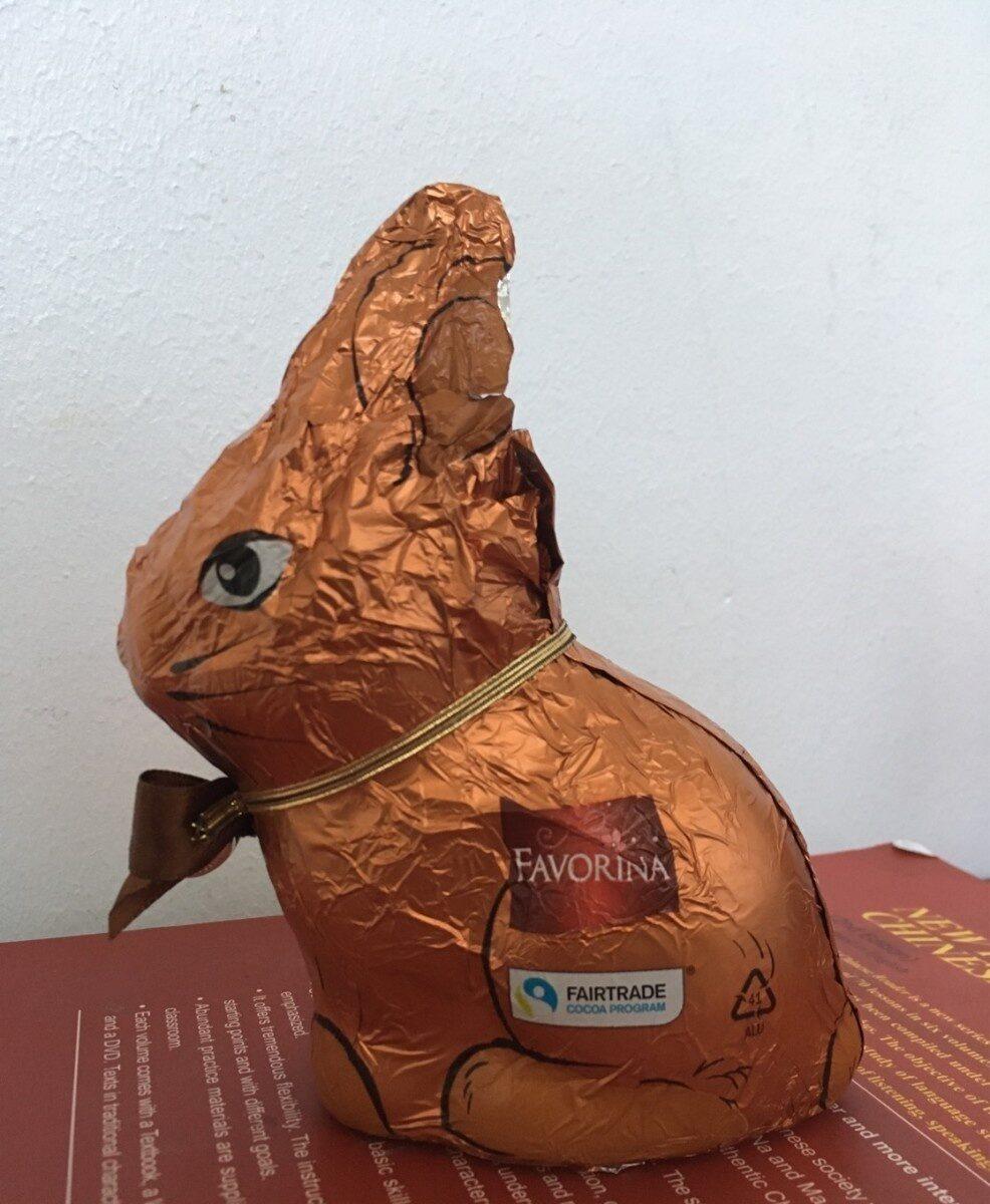 Lapin de paques au chocolat noir - Prodotto - fr