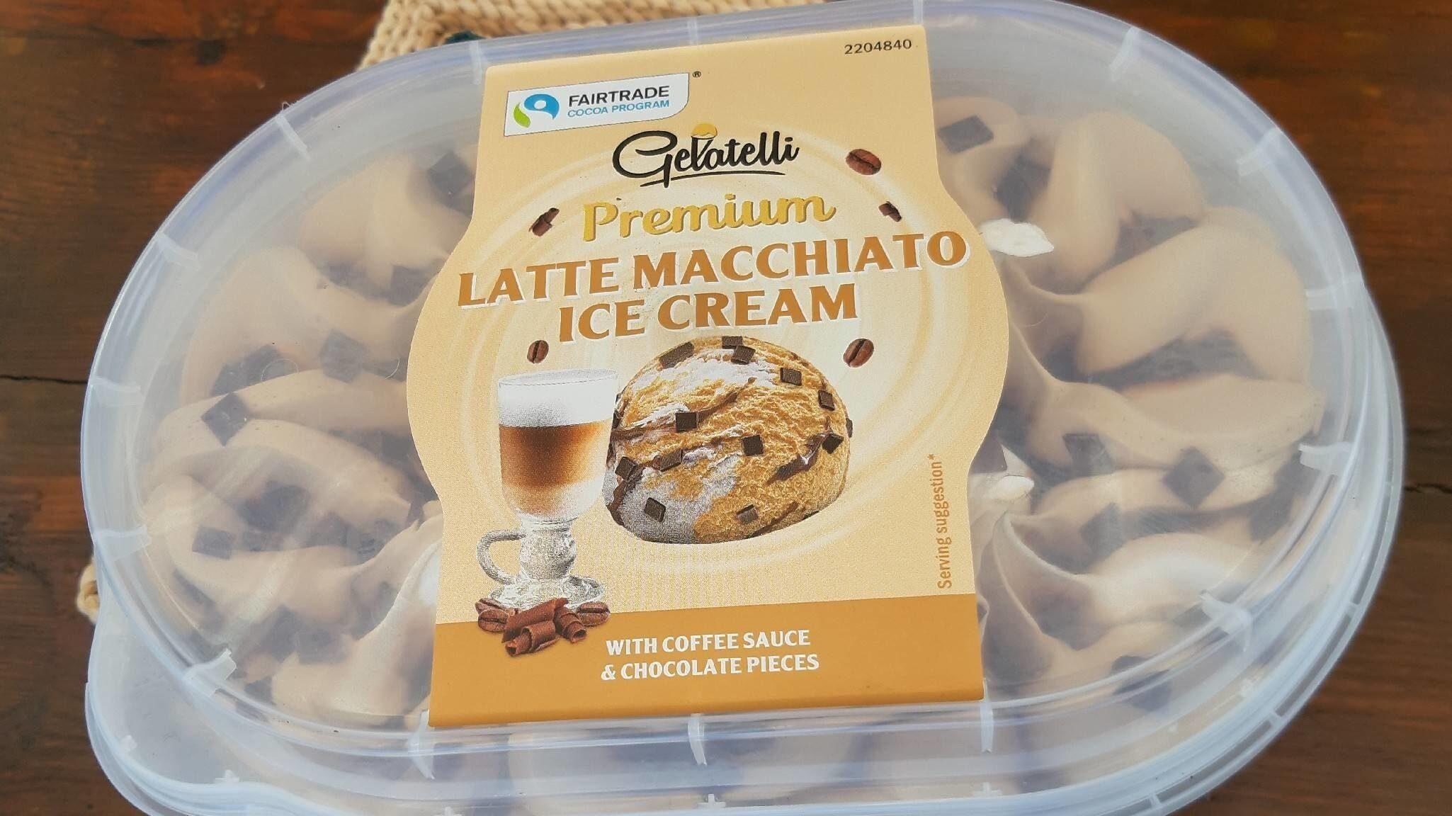 Latte Macchiato Ice Cream - Product - en