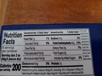 Reggano Oven Ready Lasagna - Informations nutritionnelles