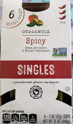guacamole spicy singles - Product