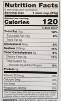 guacamole spicy singles - Nutrition facts