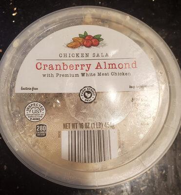 cranberry almond chicken salad - Produit