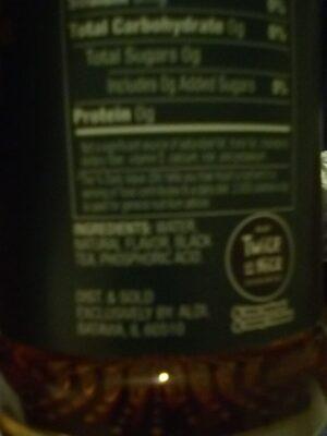 Black Tea - Ingredients - en