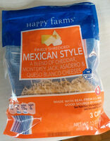 Mexican Style Cheese - Product - en