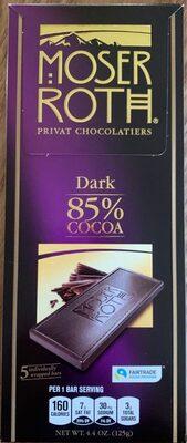 Dark 85% cocoa - Product - en
