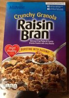 crunchy granola raisin bran - Product - en