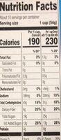 crunchy granola raisin bran - Nutrition facts - en
