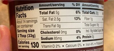 Bakers corner chocolate icing - Nutrition facts - en