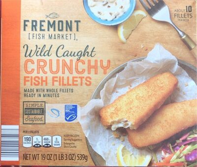 Wild Caught Crunchy Fish Fillet - Product - en