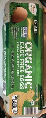 Organic cage free eggs - Product - en