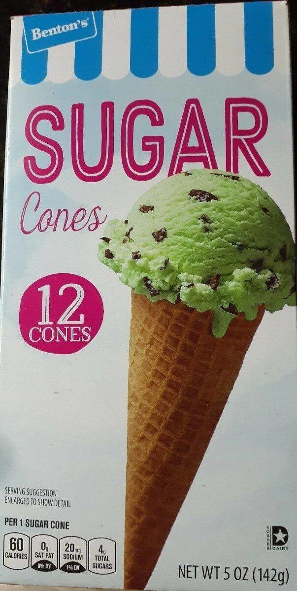 Sugar cones - Product - en