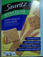 Thin Wheat Crackers - Product - en