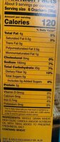 Woven whole wheat crakers - Informations nutritionnelles - en