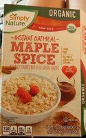Maple spice - Product - en