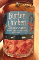 Butter chicken dinner sauce - Product