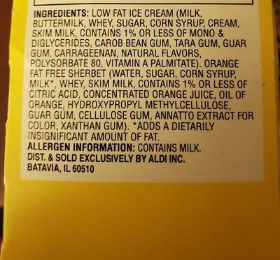 sundae shoppe - Ingredients