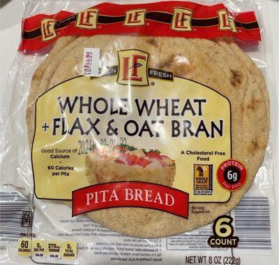 Whole wheat pita - Product - en