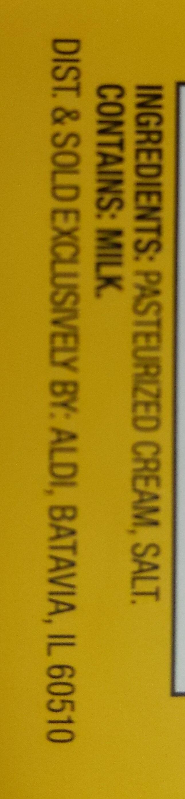 Salted Butter - Ingredients - en