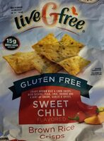 Sweet Chili Brown Rice Crisps - Product - en