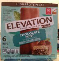 Elevation Chocolate Mint Bars - Produit - en