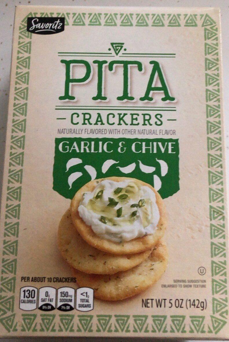 Pita crackers - Product - en