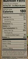Edamame spaghetti - Nutrition facts - en