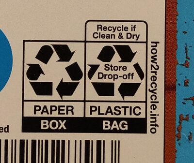 Loaded Potato Skins - Instruction de recyclage et/ou information d'emballage - en