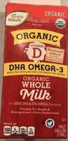 Organic whole milk - Product - en