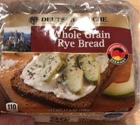 Whole rye bread - Produit - en