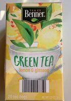 Green Tea - Produit - en