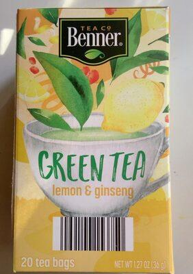 Green Tea - Produit