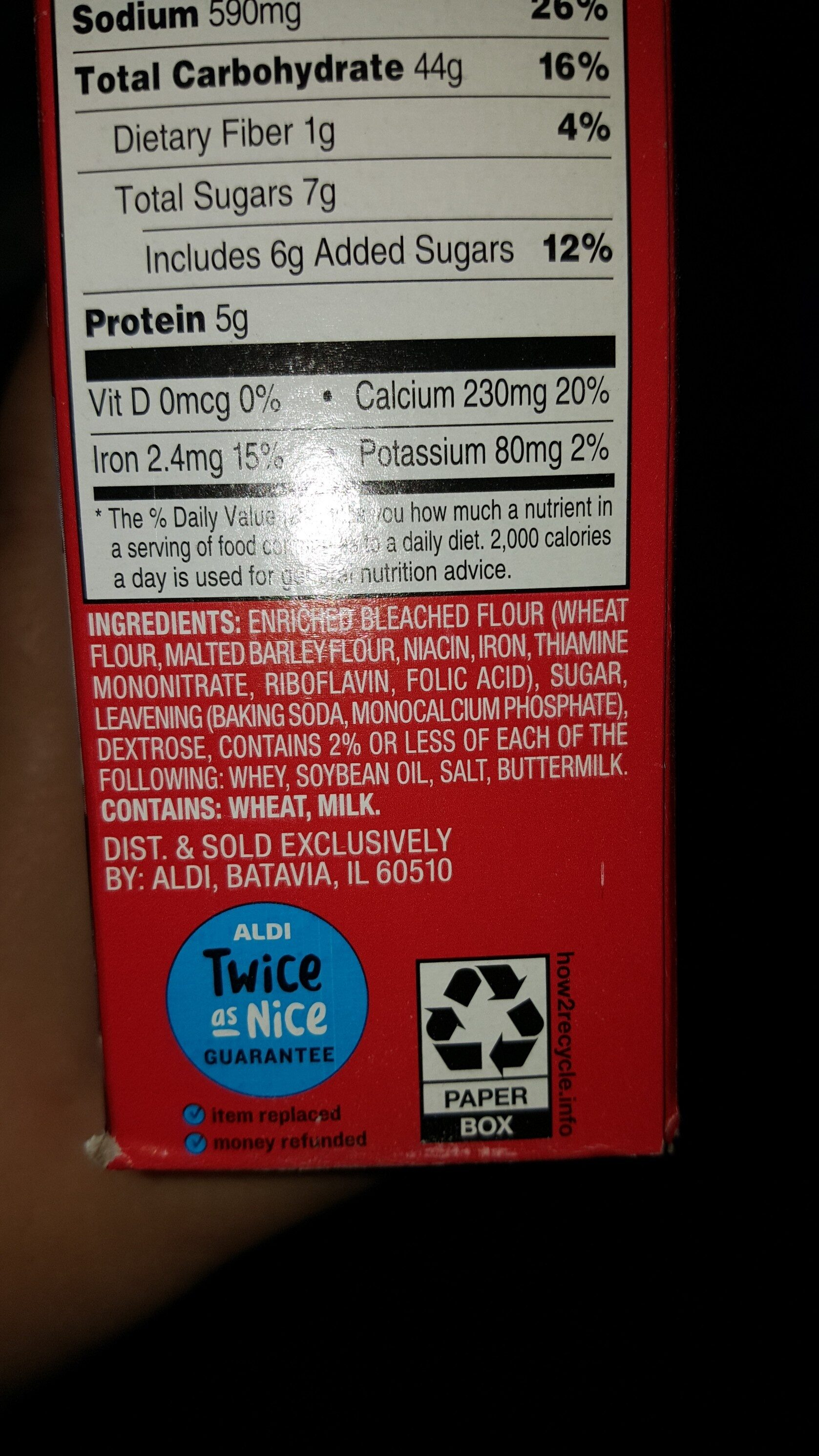buttermilk - Ingredients - en