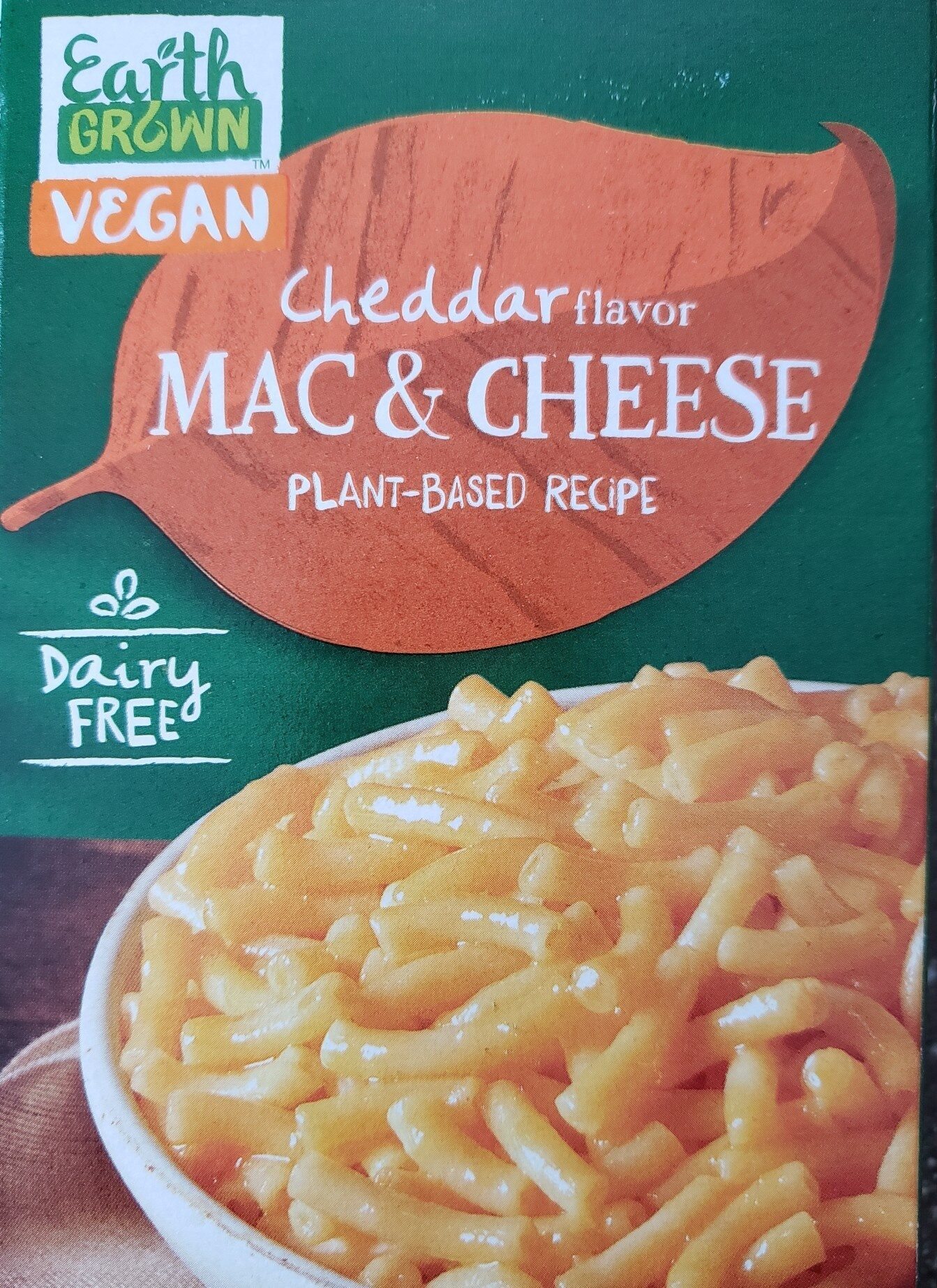 Earth Grown Vegan Mac & Cheese - Product - en