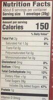 Hot Cocoa Instant Drink Mix - Informations nutritionnelles - en