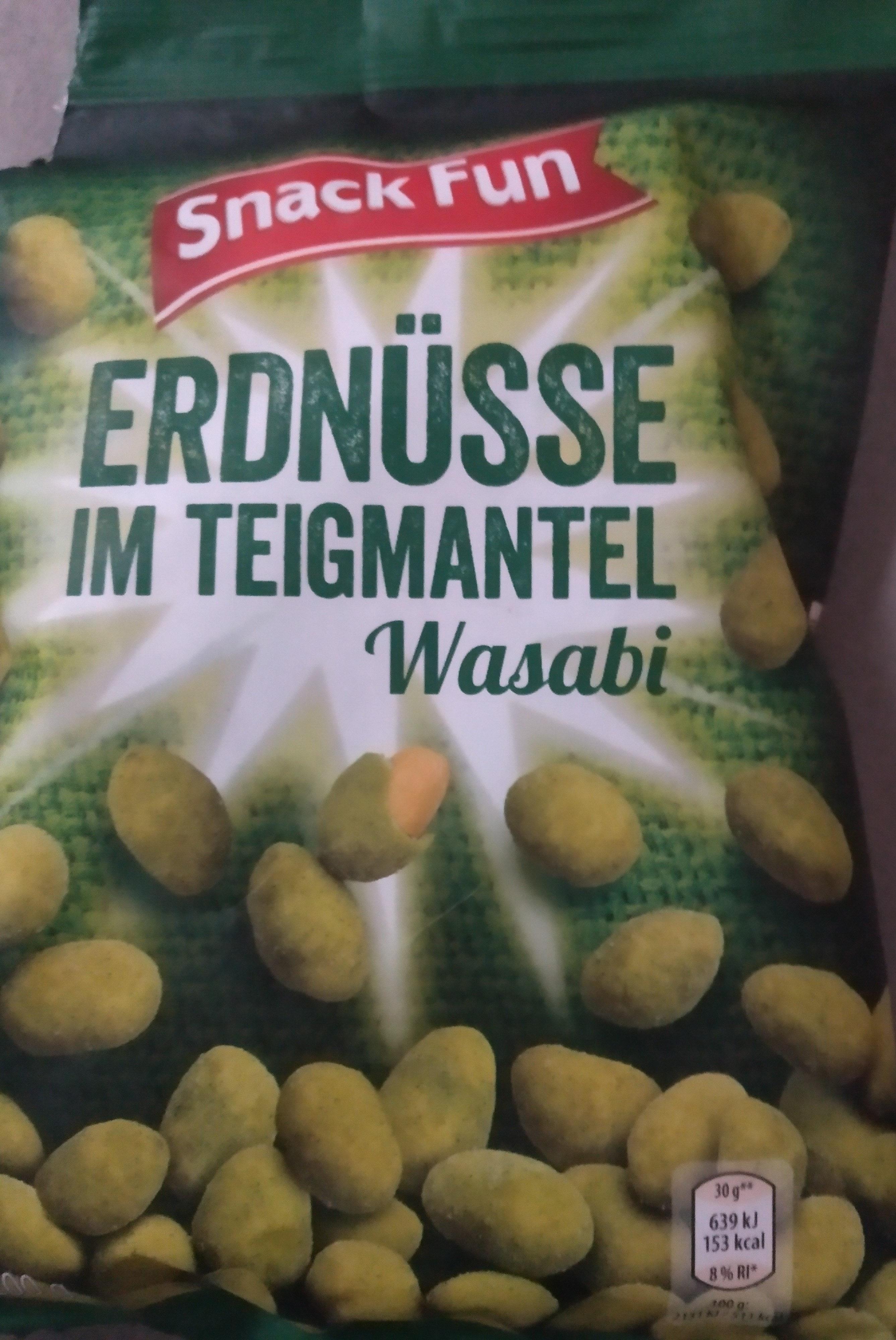 Cacahuètes enrobées de Wasabi - Prodotto - de